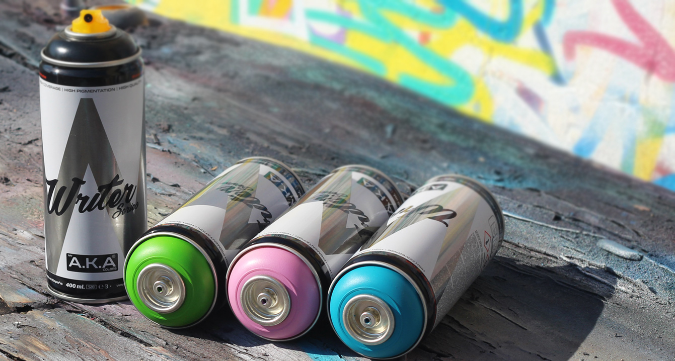 My A.K.A Colors Proffesional Graffiti Spray Paint